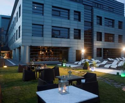 Jardín Hotel Nuevo Boston