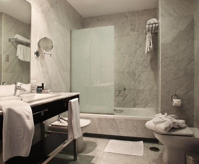 Baño Hotel Nuevo Boston